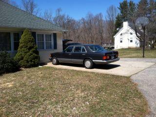 1986 Mercedes 420sel photo