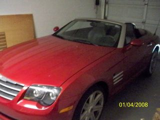 2006 Chrysler Crossfire Limited Convertible 2 - Door 3.  2l photo