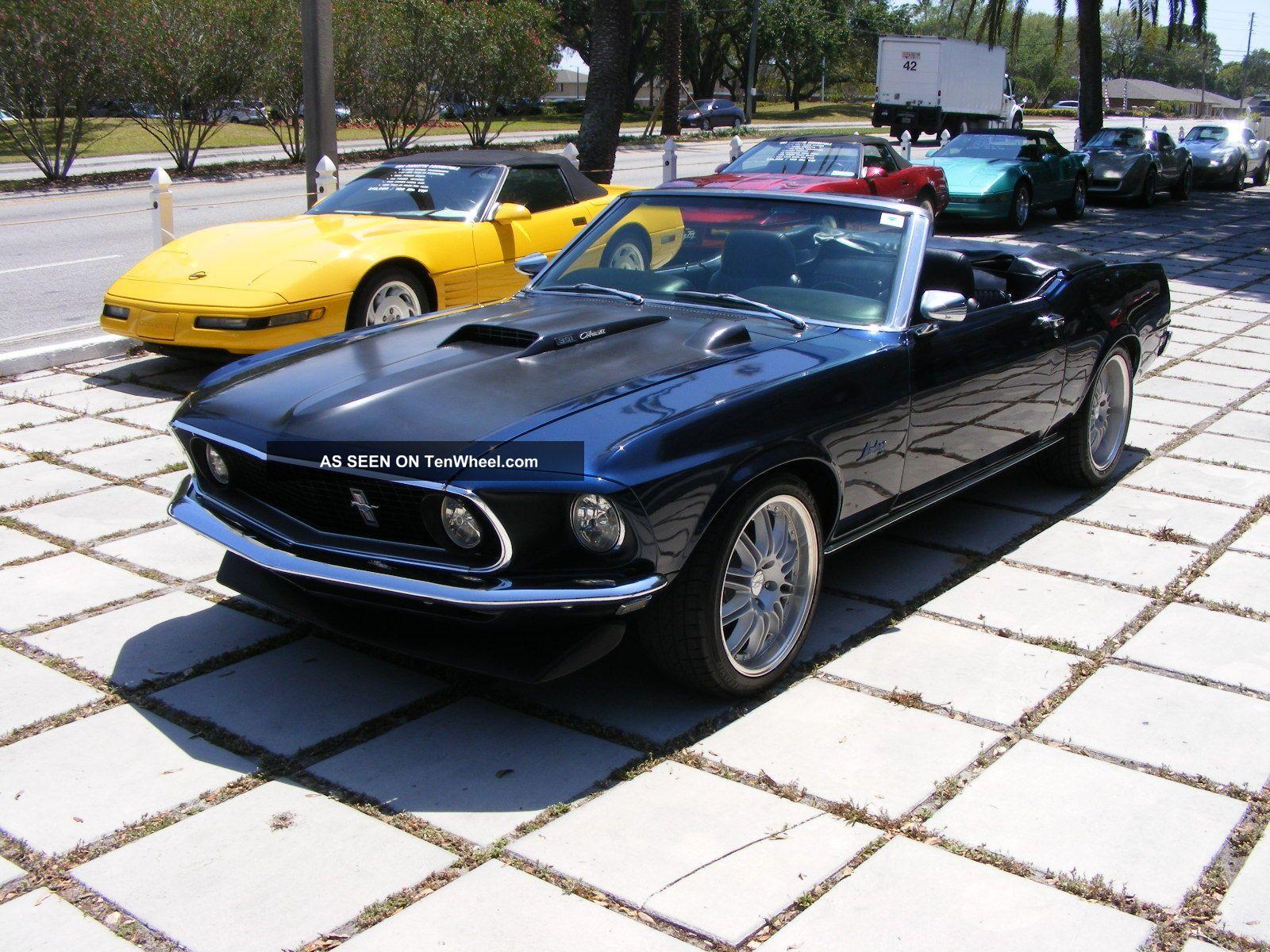 Mustang Convertible Restomod Cleveland Bolt Block Lgw