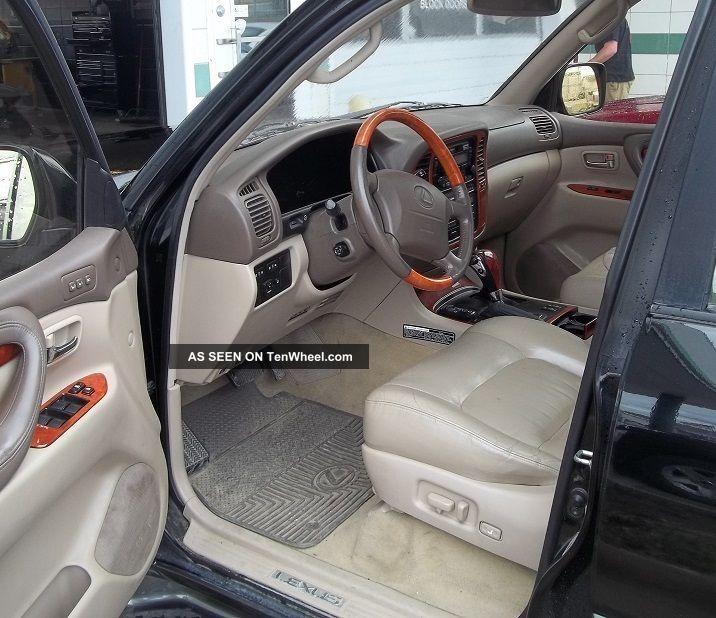 2013 Lincoln Navigator L Interior: 2000 Lexus Lx470 Sport Utility 4