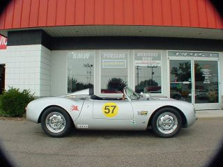 Rare Limited Edition Beck 1957 Porsche 550 Spyder photo