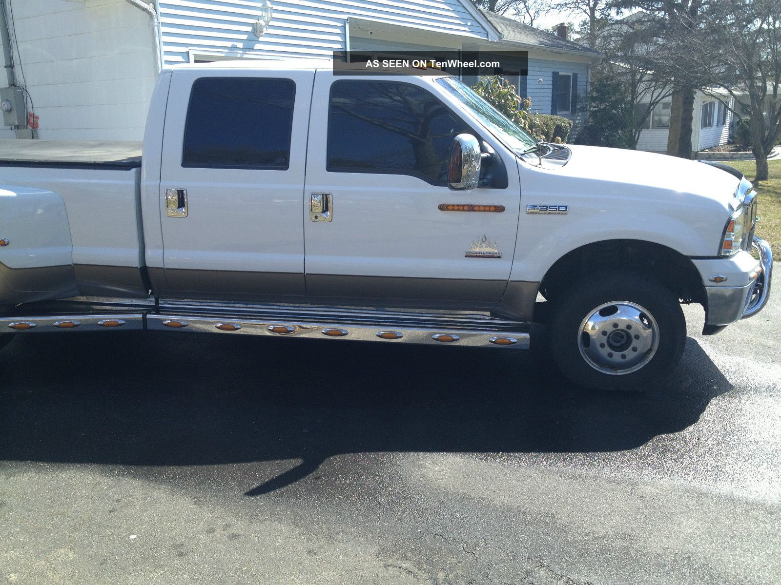 2006 Ford F350 Diesel 4x4 Truck W Dew Eze Hay Bale Pick  Dually Conversion Ford F350 2005 Ford F350 Lariat Dually ...