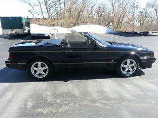 1993 Cadillac Allante Convertible - Black On Black photo