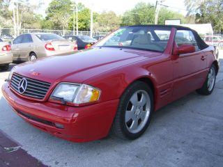 1999 Mercedes - Benz Sl500 Base Convertible 2 - Door 5.  0l photo