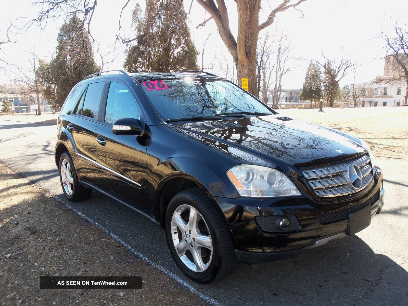 2006 Mercedes Benz Ml350 Awd With Airmatic Suspension
