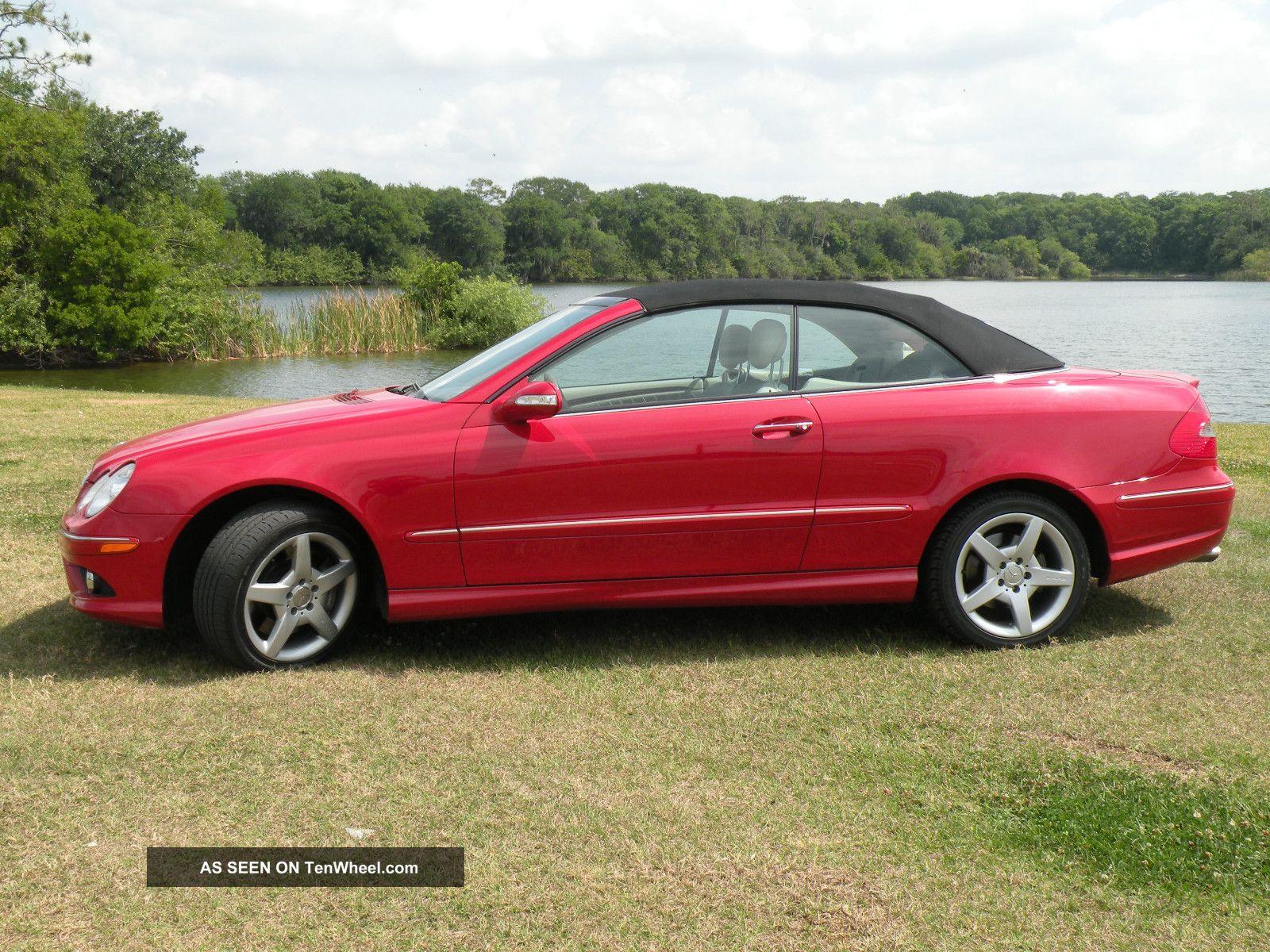 2006 mercedes benz clk500 base convertible 2 door 5 0l for 2006 mercedes benz clk500