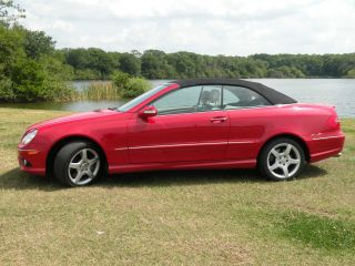 2006 Mercedes - Benz Clk500 Base Convertible 2 - Door 5.  0l photo