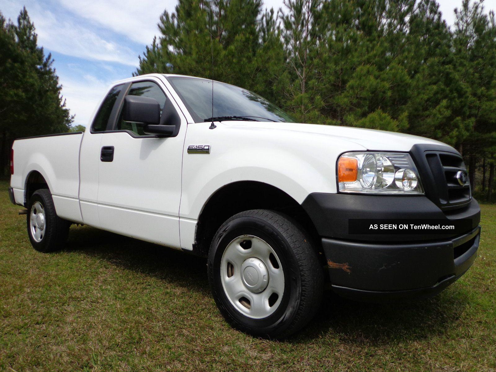 2007 ford f 150 xl pickup extended cab 4 2l v6 2wd in mississippi. Black Bedroom Furniture Sets. Home Design Ideas