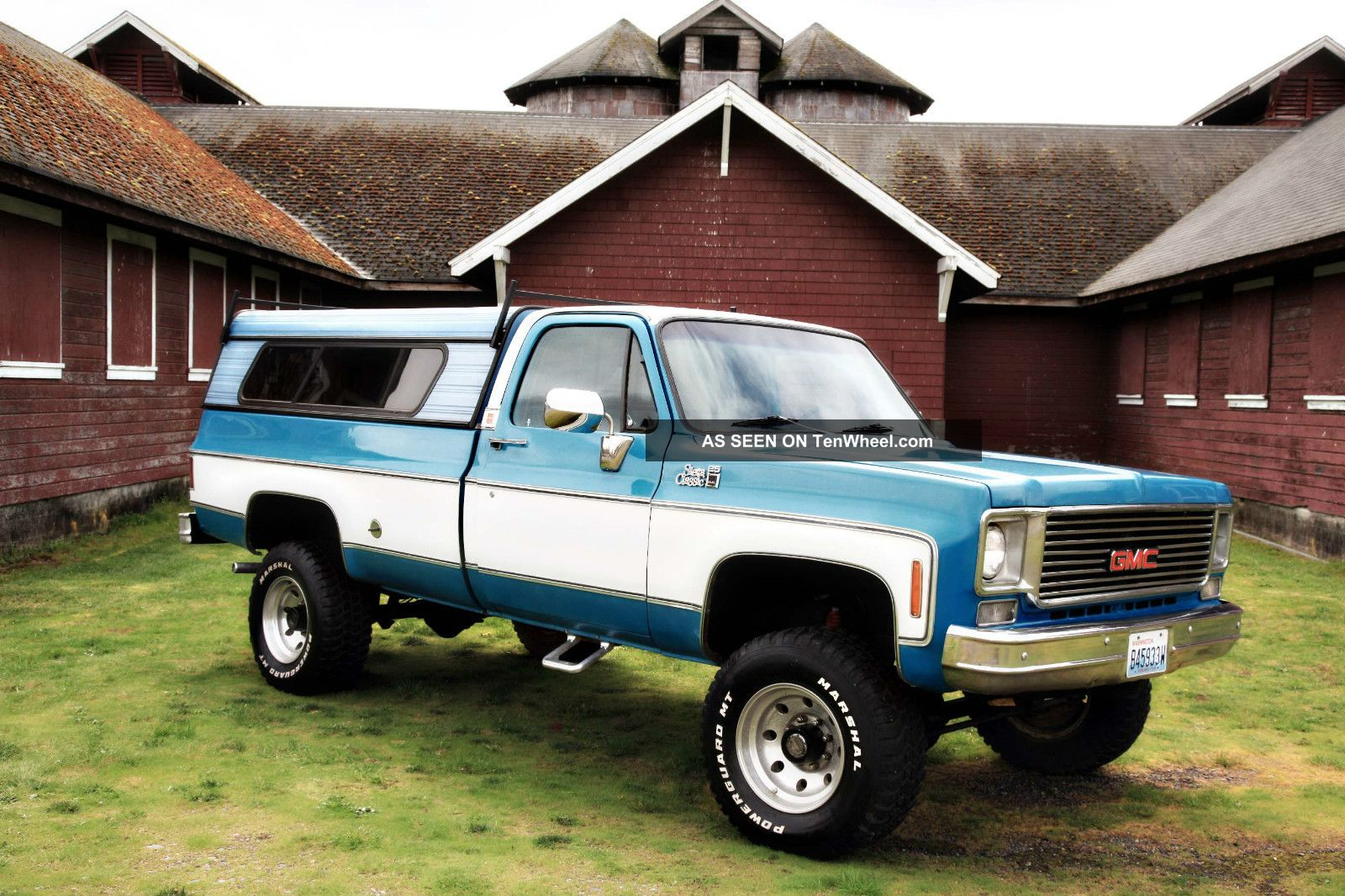1976 gmc sierra classic k20 3 4 ton 4x4 long bed auto 4wd. Black Bedroom Furniture Sets. Home Design Ideas