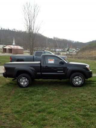 2009 Toyota Tacoma 4x4 Regular Cab Manual Shift (black) photo
