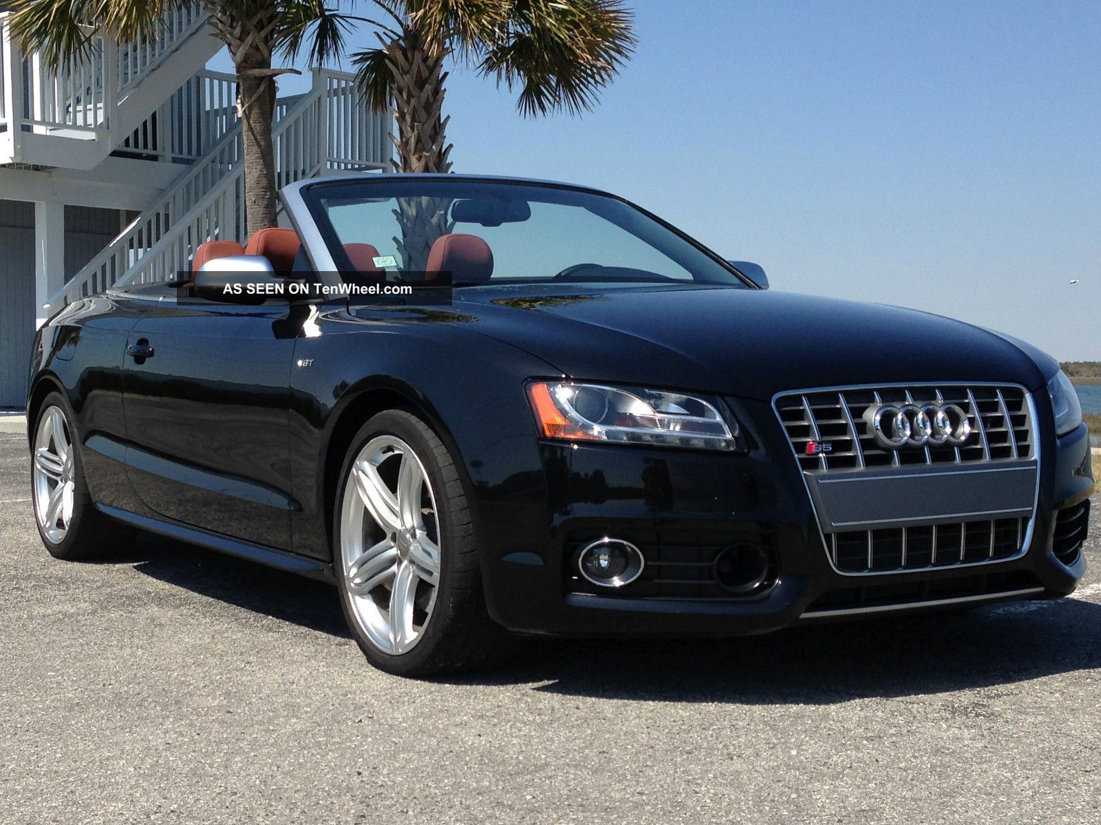 2012 Audi S5 Cabriolet Quattro Prestige Convertible 2 - Door 3.  0l Heat / Ac Seats S5 photo