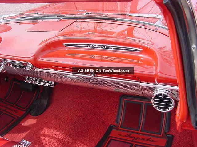 1960    Chev Impala Convertible Factory    Air       Conditioning