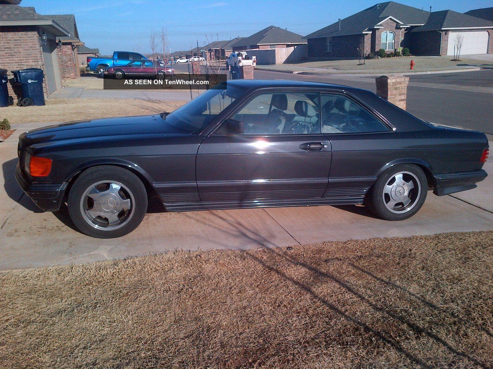 1985 mercedes benz 500sec amg coupe 2 door 5 0l for 1985 mercedes benz