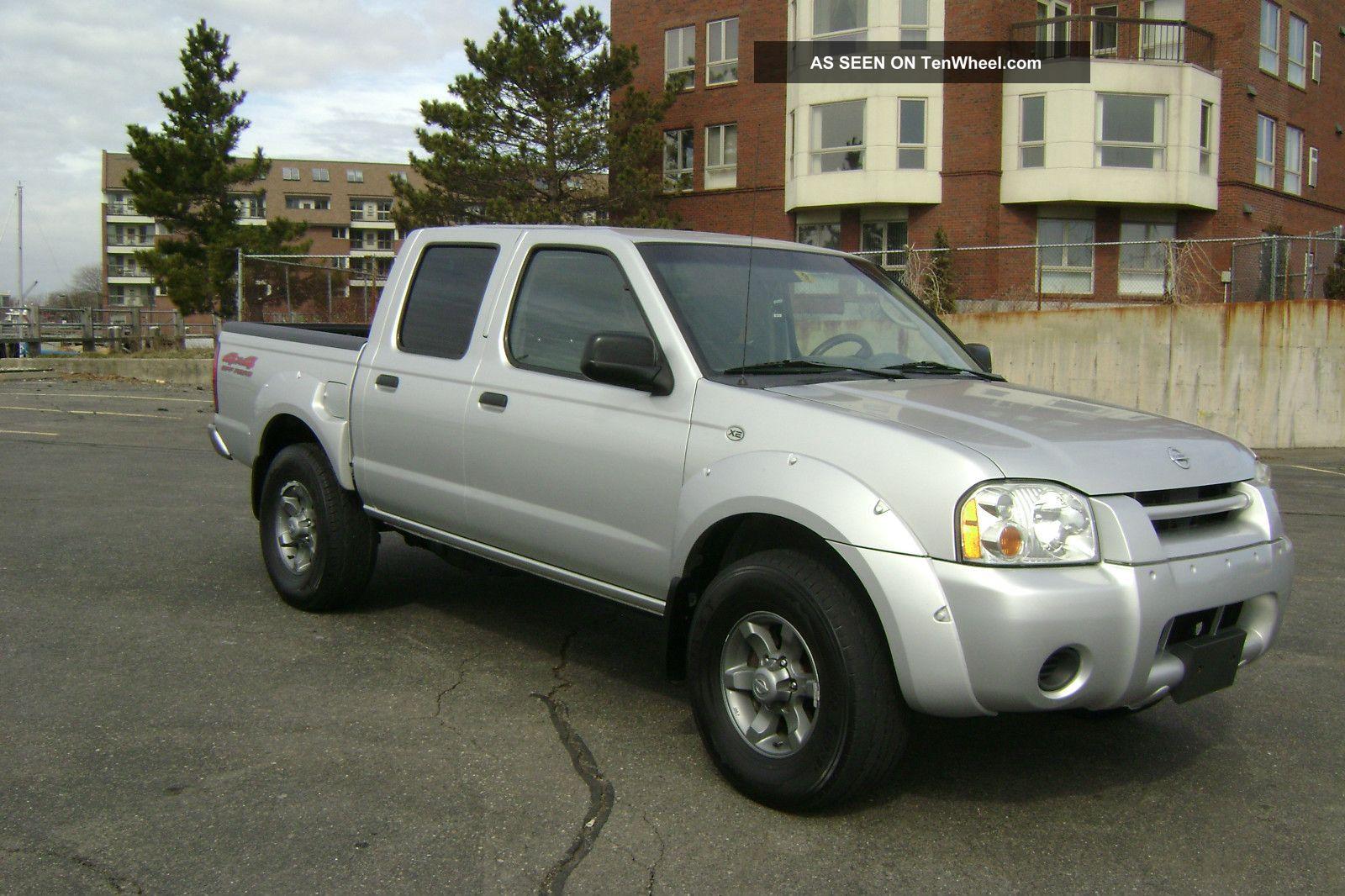 Nissan nissan frontier 2004 : 2004 Nissan Frontier Xe Crew Cab Pickup V6 Auto 4x4 Off Road Pkg