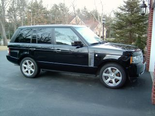 2011 Range Rover Charged Black On Black Loaded photo