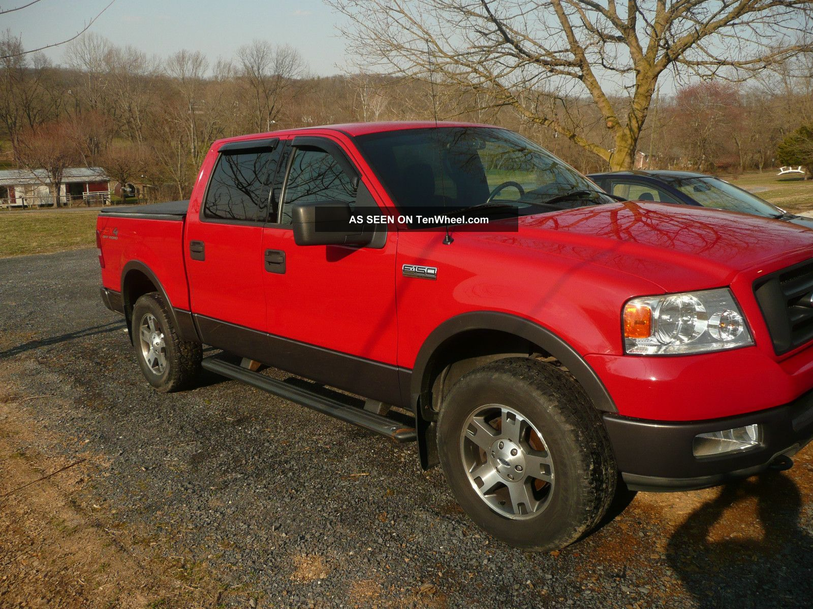 2004 ford f 150 fx4 crew cab pickup 4 door 5 4l
