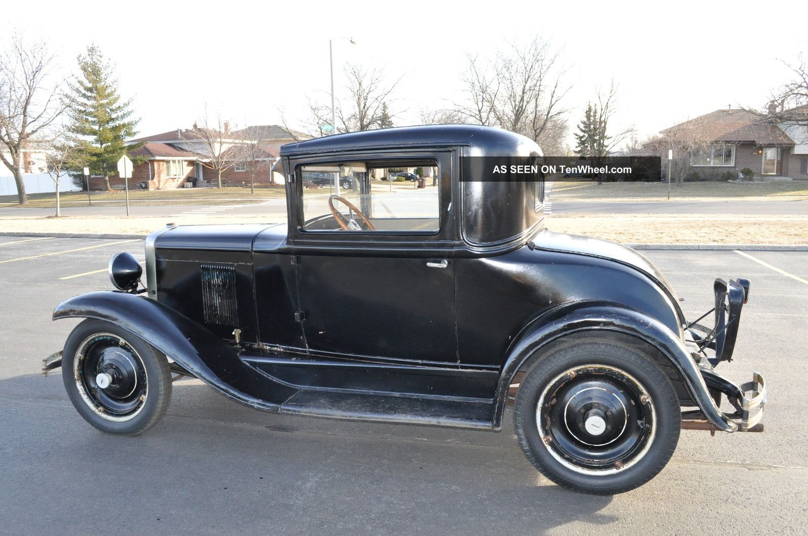 1929 chevrolet 3 window coupe orginal car