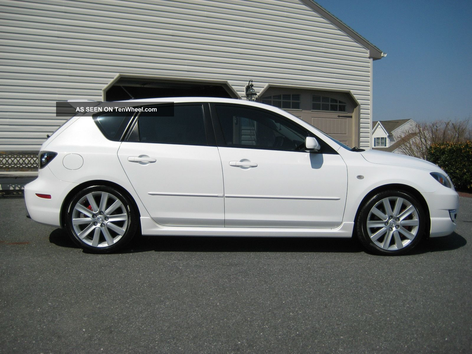 2008 mazda 3 mazdaspeed hatchback 4 door 2 3l. Black Bedroom Furniture Sets. Home Design Ideas