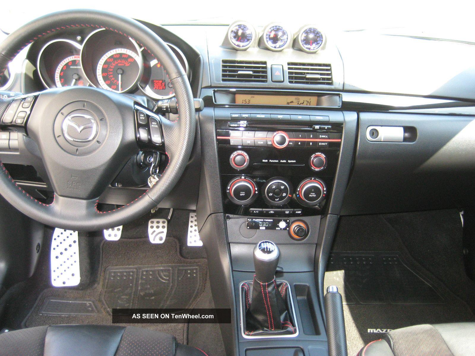 2008 Mazda 3 Mazdaspeed Hatchback 4 Door 2 3l