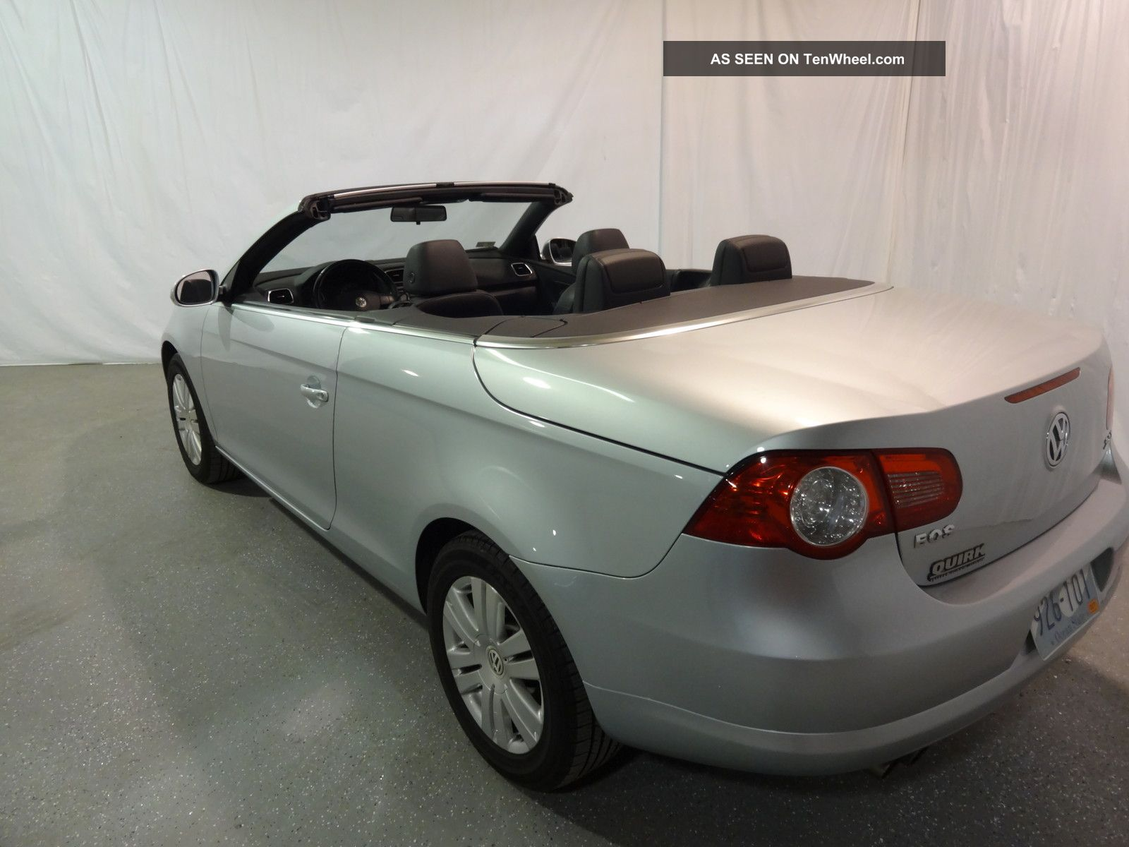 2008 volkswagen eos turbo convertible 2 door 2 0l. Black Bedroom Furniture Sets. Home Design Ideas