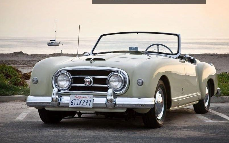 1953 Nash - Healey Roadster photo