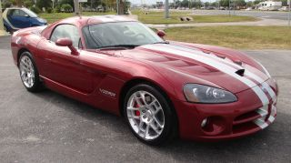 2008 Dodge Viper Srt - 10 Coupe 2 - Door 8.  4l photo
