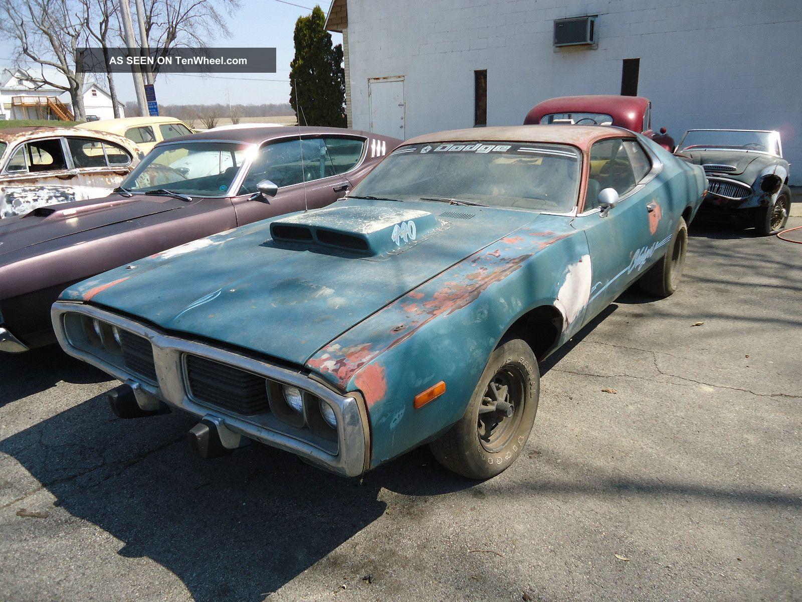 1973 Dodge Charger 440 Old School Ground Pounder Spring