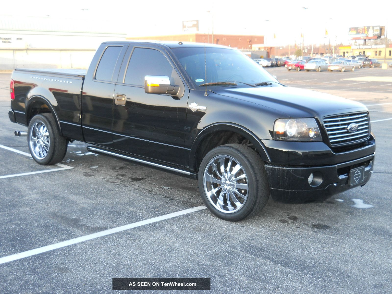 2006 Ford F150 Harley Davidson Edition 4x4 Trade For 12 999