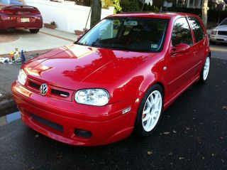 2001 Volkswagen Golf Gti Glx Turbo Over 600hp Hatchback 2 - Door 2.  8l photo
