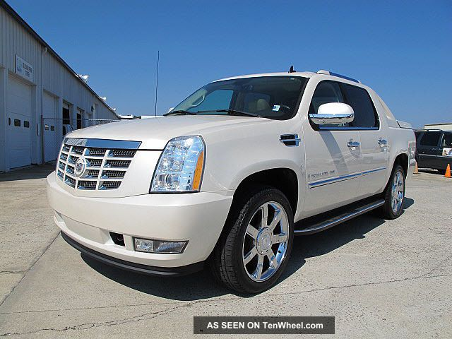 2008 cadillac escalade ext awd heated cooled seats 22 wheels. Black Bedroom Furniture Sets. Home Design Ideas