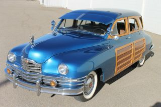 1950 Packard Woody Wagon photo