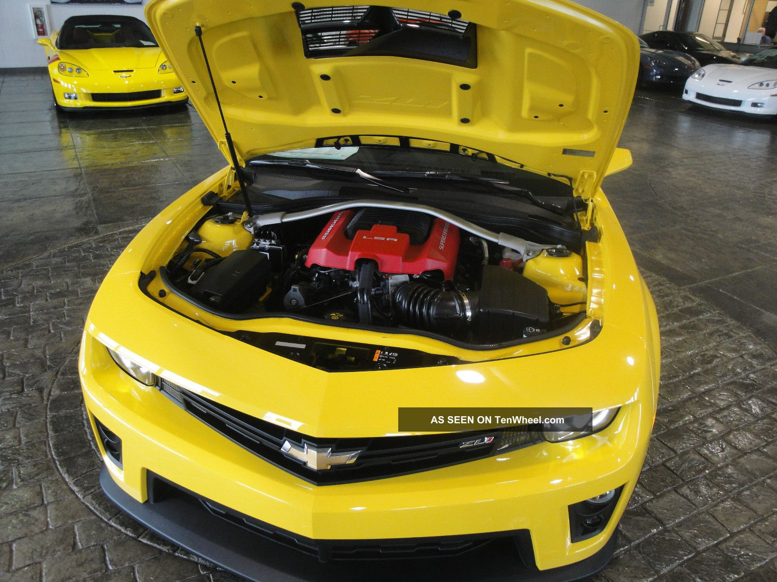 2013 Rally Yellow Supercharged Camaro Zl1 Automatic Carbon ... 2013 Camaro Zl1 Supercharged Specs