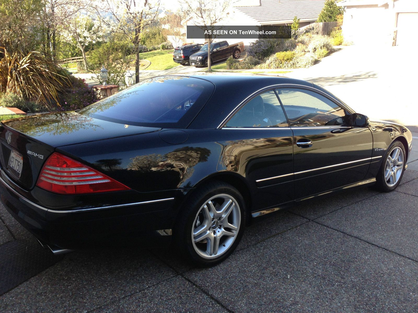 2005 mercedes benz cl55 amg base coupe 2 door 5 5l. Black Bedroom Furniture Sets. Home Design Ideas