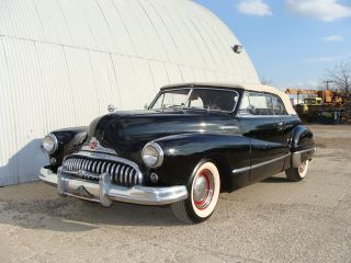 1948 Buick Convertible.  Solid Driver.  Texas photo