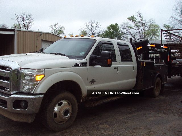 2011 Ford F - 350 Lariat Flatbed Truck - Truck F-350 photo