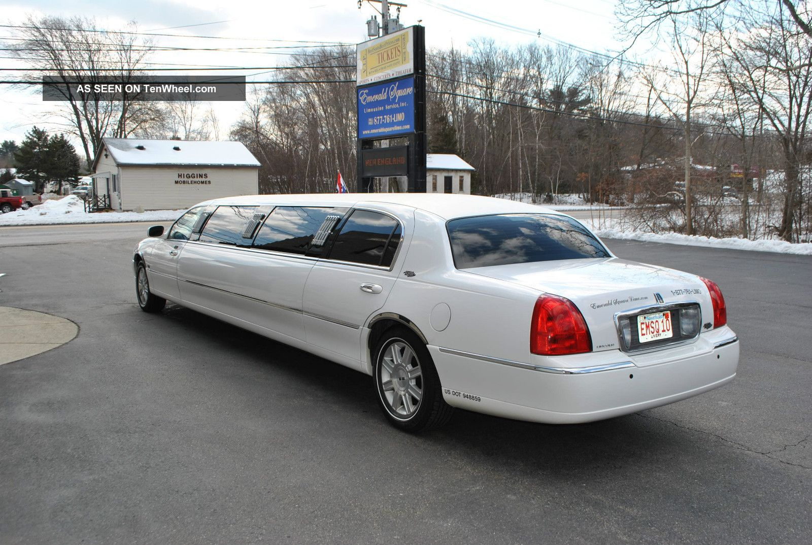 2008 lincoln town car royale limousine. Black Bedroom Furniture Sets. Home Design Ideas
