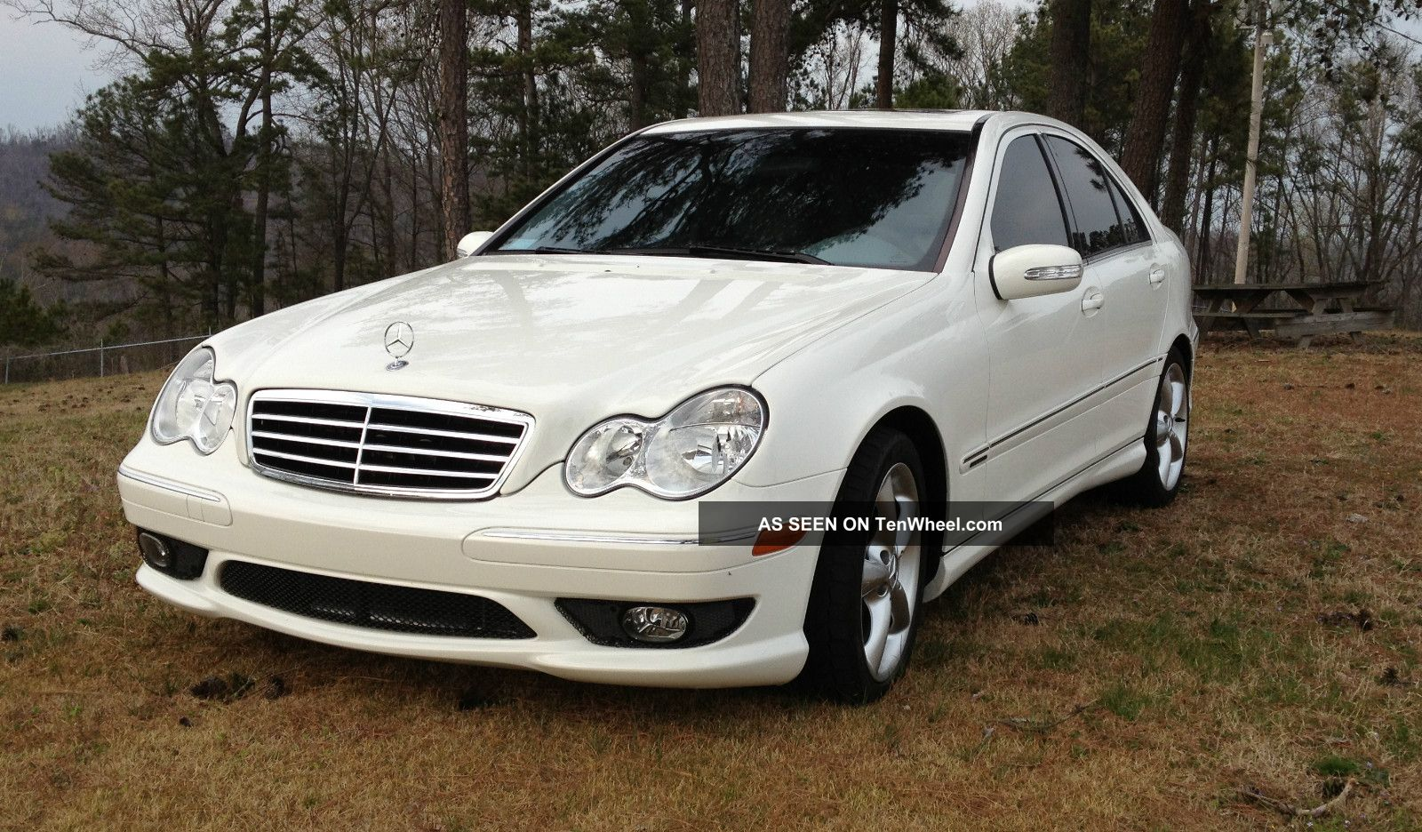 2006 mercedes benz c230 sport sedan 4 door 2 5l for Mercedes benz sedan