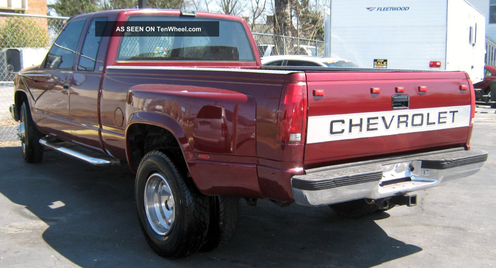 1989 Chevrolet C3500 Pickup Red Jasper 454 Engine With Papers 6 Tires C/K Pickup 3500 photo