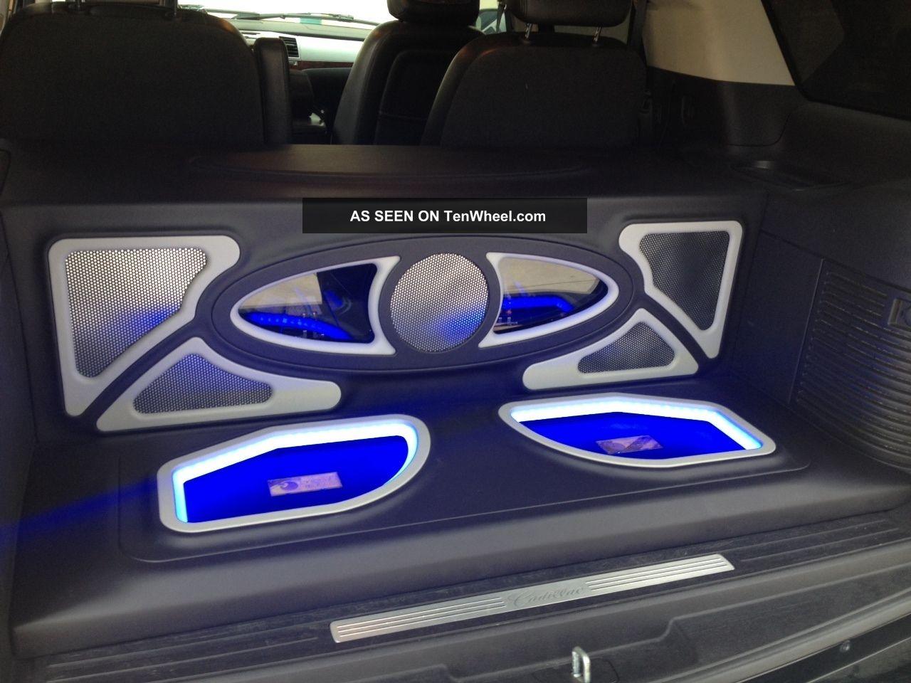Chevy Awd Cars >> Custom 2007 Cadillac Escalade Sound System Asanti Blacked Out