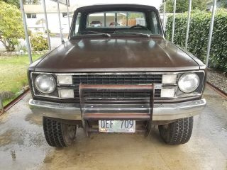 1981 Ford Courier 2.  3 5spd 4x4 photo