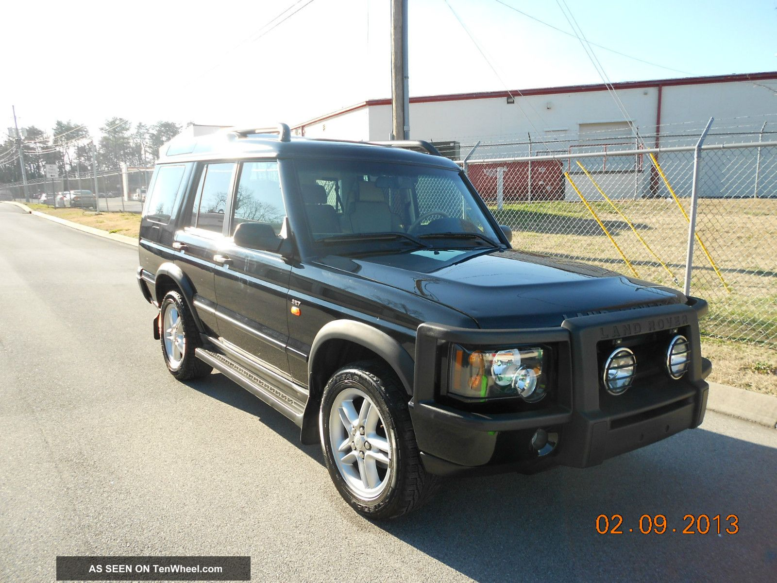 2004 land rover discovery 2 se7 sport utility 4 door 4 6l black awesome. Black Bedroom Furniture Sets. Home Design Ideas