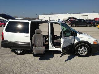 2004 Pontiac Montana Base Mini Passenger Van 4 - Door 3.  4l W / Handicap Conversion photo