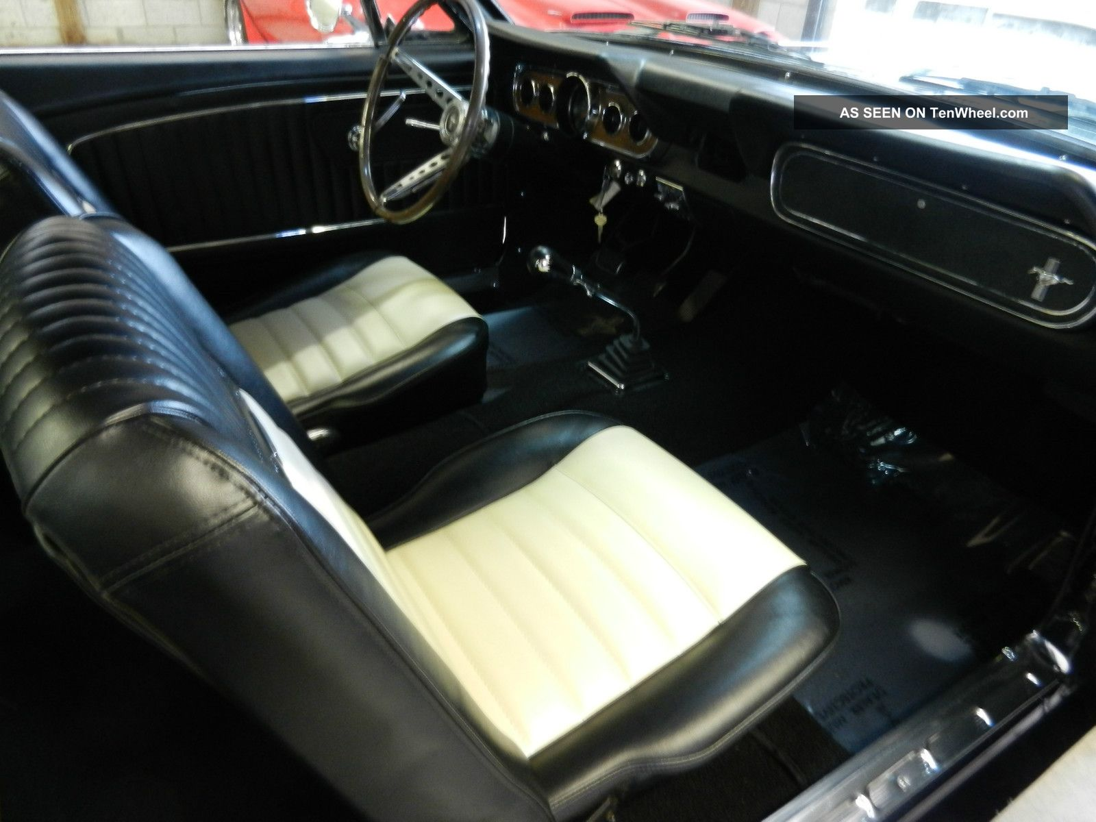 Awesome 1966 Mustang Fastback Shelby Gt350 Pkg 4 Spd Pony Interior