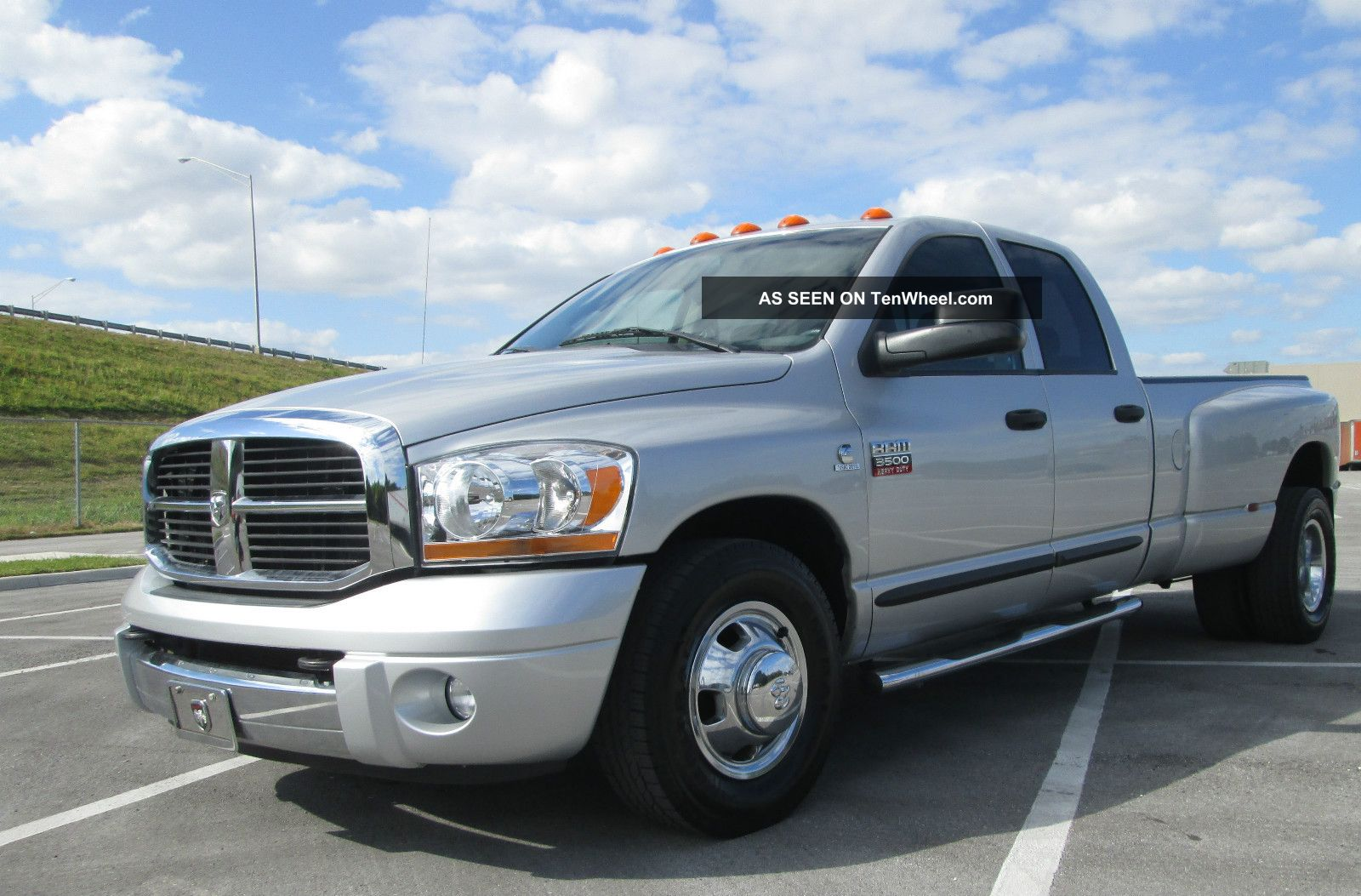 2007 dodge ram 3500 slt quad cab 5 9l cummins turbo diesel. Black Bedroom Furniture Sets. Home Design Ideas