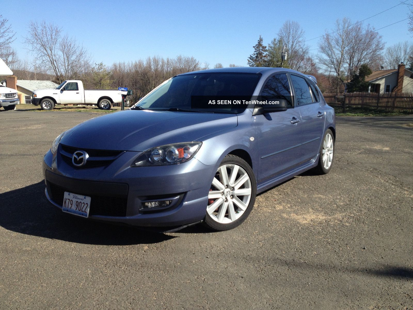 2007 mazda 3 mazdaspeed hatchback 4 door 2 3l some mods. Black Bedroom Furniture Sets. Home Design Ideas