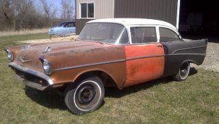 1957 Chevy 2 Door Post Project photo