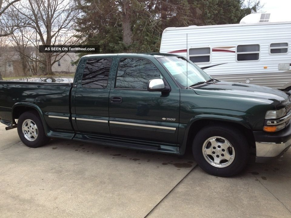 2001 chevrolet silverado 1500 ls extended cab pickup 4 door 5 3l. Black Bedroom Furniture Sets. Home Design Ideas