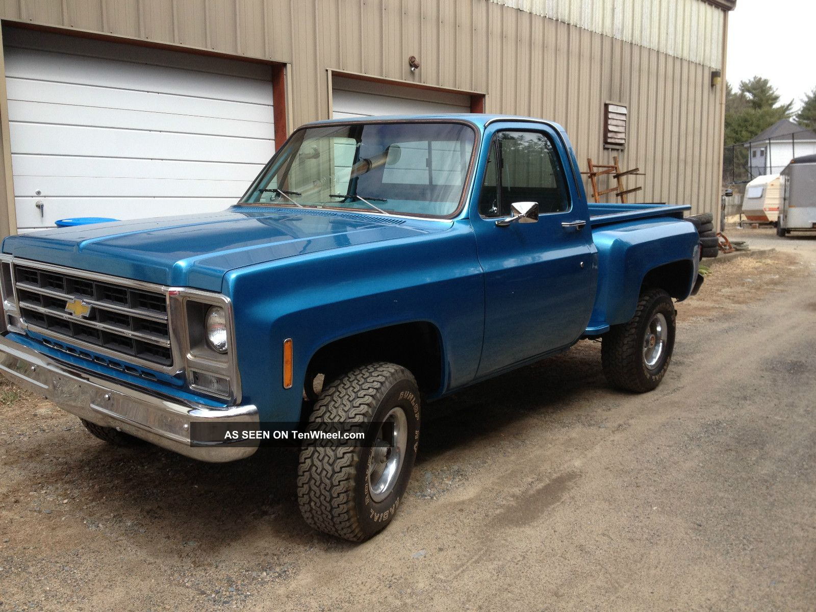 1979 Ford 1500 4 Wheel Drive Tractor : Chevy stepside survivor just pulled out of long