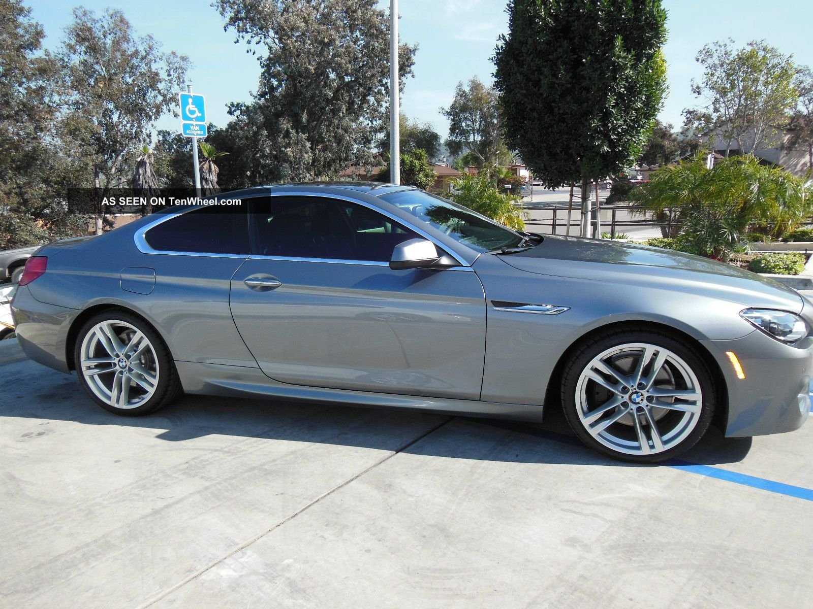 2012 Bmw 650i Coupe Space Gray Fully Loaded Sport Package 6-Series photo