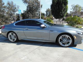 2012 Bmw 650i Coupe Space Gray Fully Loaded Sport Package photo